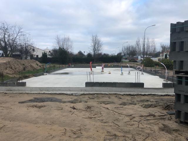 Nouveau chantier à Notre Dame de Monts